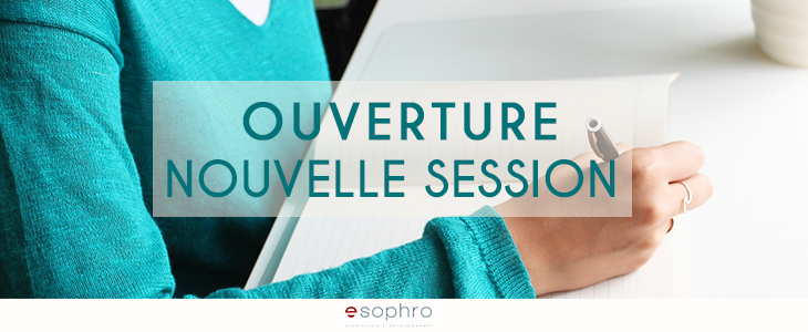 Inscriptions session Novembre ouvertes